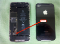 iPhone 4 disassemblied