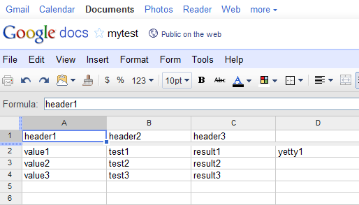 Weird Rocketry Blog Archive Make Use Of Google Spreadsheets In - Google spreadsheet examples