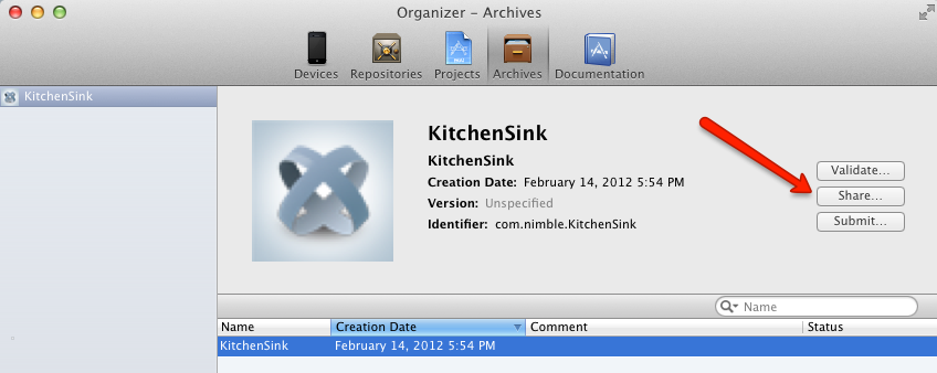 Kitchensink archive